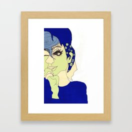 all this time away, you're still on my mind Framed Art Print