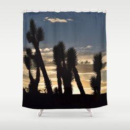 Desert Silhouettes Shower Curtain