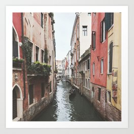 CANALS Art Print