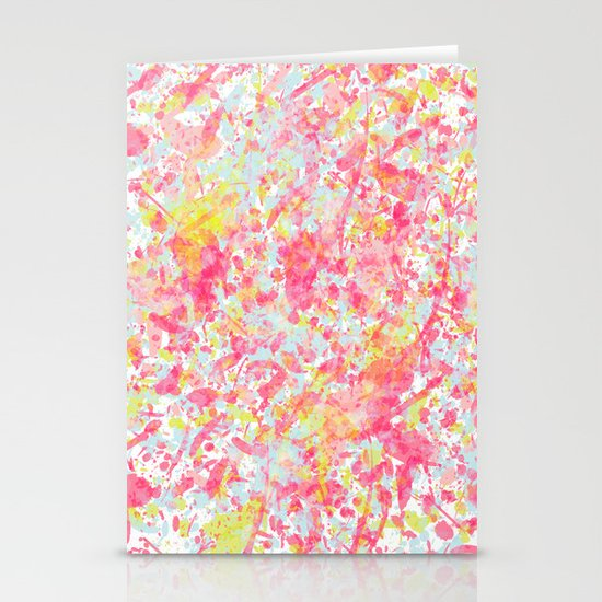 Explosion of blossoms Stationery Cards