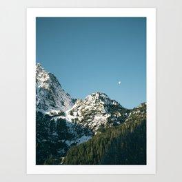 Cascades Art Print
