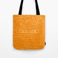 engineer Tote Bags featuring Engineer by Be Raza
