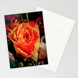 Variegated Rose  Stationery Cards