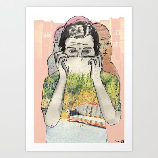 Mi Diciembre Art Print