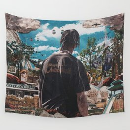 astroworld travis scotts Wall Tapestry