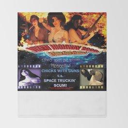 Vixen Highway 2006: It Came from Uranus! (2010)'. – Movie Poster Throw Blanket