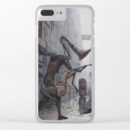 Life is a Dance in The Rain III Clear iPhone Case