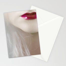 cherry lips Stationery Cards