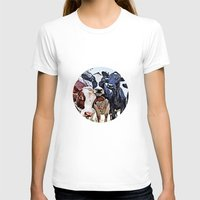 cows T-shirts featuring Funny cows by George Peters