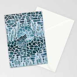 Moonlight Story (Platinum) Stationery Cards