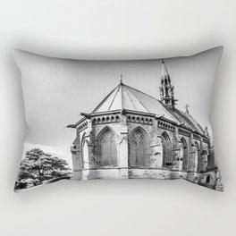 Cemetry Chapel Rectangular Pillow