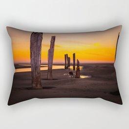 Pacific Beach Sunset Rectangular Pillow