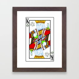 King of the Lab Framed Art Print