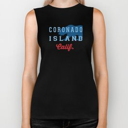 Coronado - California.  Biker Tank