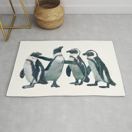 penguin party Rug