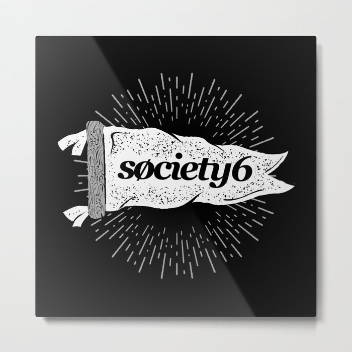 Society6 Banner Metal Print