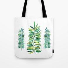 Three Ferns Tote Bag