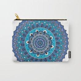 Blue Mandala Art Carry-All Pouch