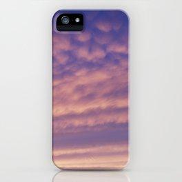 Purple Pink Skyscape iPhone Case