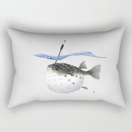 Take It Outside! (Wordless) Rectangular Pillow