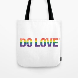 Do Love Rainbow Tote Bag