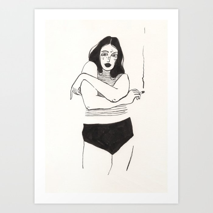 Too much to love you Art Print
