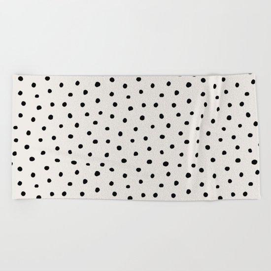 Perfect Polka Dots Beach Towel