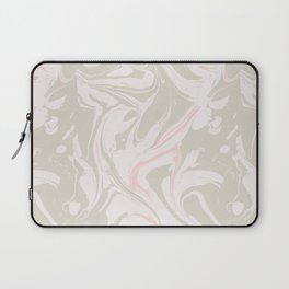 Beige marble pattern Laptop Sleeve