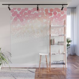 Circle Descent Rose Gold Wall Mural