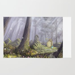 Totoro's Forest Rug