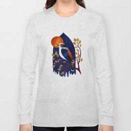 Window Bird Long Sleeve T-shirt