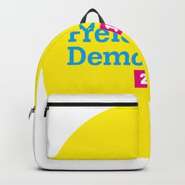 Free Democratic Party 2018 Logo Backpack