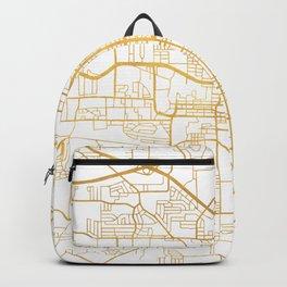 TALLAHASSEE FLORIDA CITY STREET MAP ART Backpack