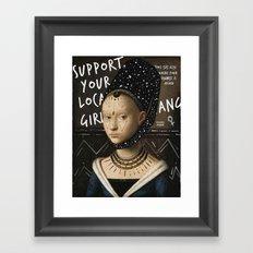 .Portrait Series | Girl Gang. Framed Art Print