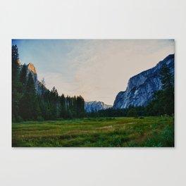 Yosemite Valley Meadow Canvas Print