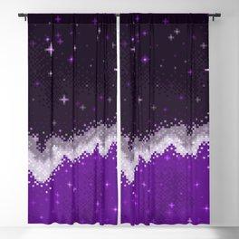 Ace Pride Flag Galaxy Blackout Curtain