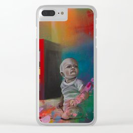 DEXTER Clear iPhone Case