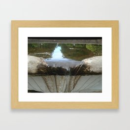 Bowing Out Framed Art Print