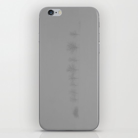 Trees in the Snow iPhone & iPod Skin