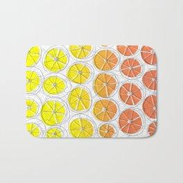 Red Lemonade Bath Mat