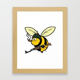 army of bees Framed Art Print