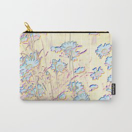 DANCING DAISIES - ABSTRACT IN COLOUR PENCIL Carry-All Pouch