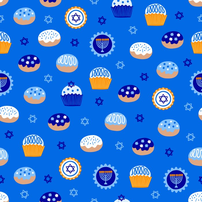 Hanukkah Sweet Treats Comforters