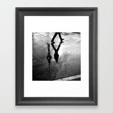 tv-tower Framed Art Print