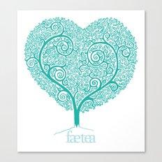 Love Growing Canvas Print