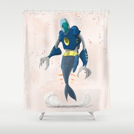 Fish Out of Water Shower Curtain