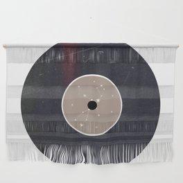 Vinyl Record Star Sign Art | Virgo Wall Hanging