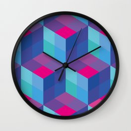 Geometrical pattern Wall Clock