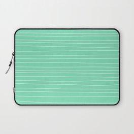 Carnival Glass Plain Stripes Laptop Sleeve