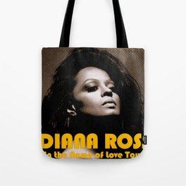 DIANA ROSS NAME OF LOVE TOUR 2019 KRIPTON Tote Bag